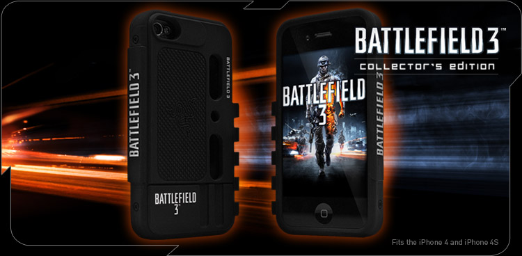 Battlefield 3™ iPhone 4 Protection Case by Razer