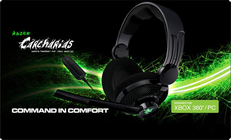 Razer Carcharias for Xbox360/PC
