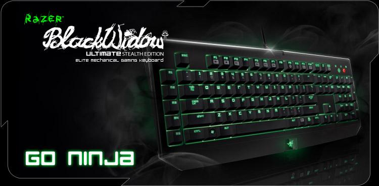 Razer BlackWidow Ultimate Stealth 2013