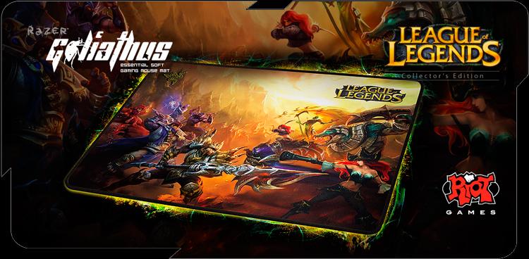 League of Legends Razer Goliathus