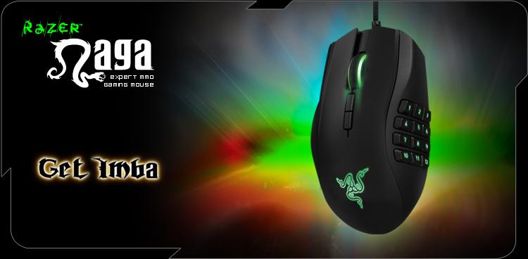 Razer Naga 2014 Left Hand
