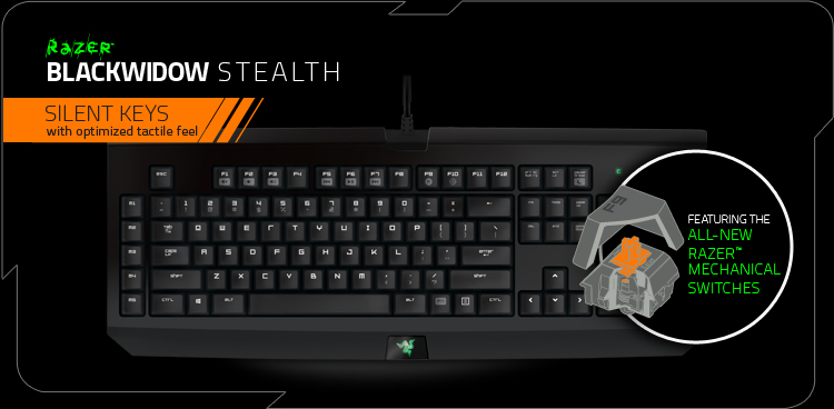 Razer BlackWidow Stealth 2014