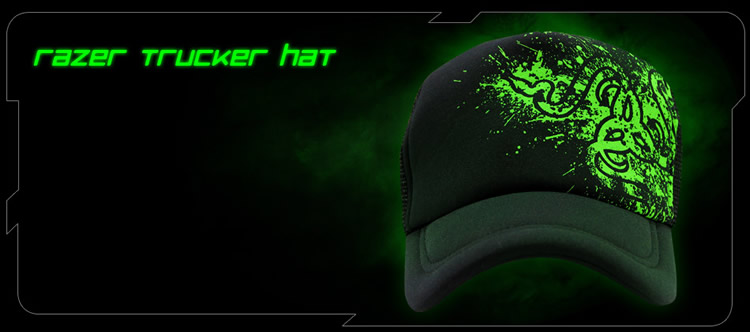 Бейсболка Razer Fragged Trucker Cap
