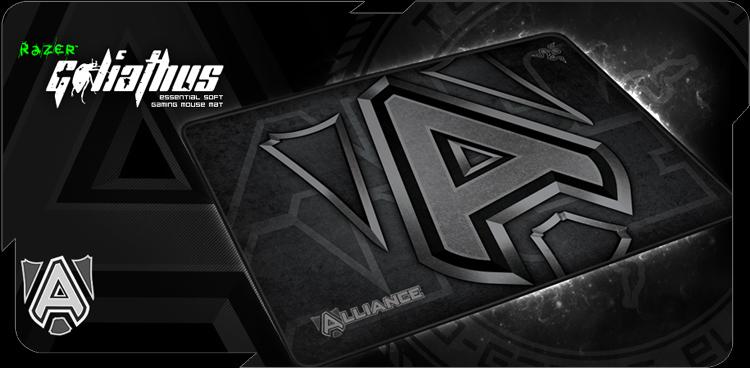 Razer Goliathus eSports Edition - Team Alliance