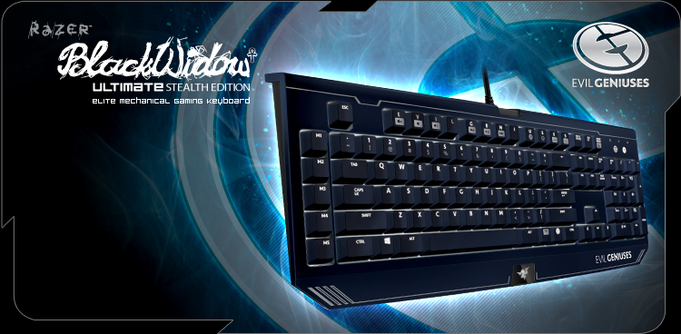 Razer BlackWidow Ultimate Stealth - Evil Geniuses
