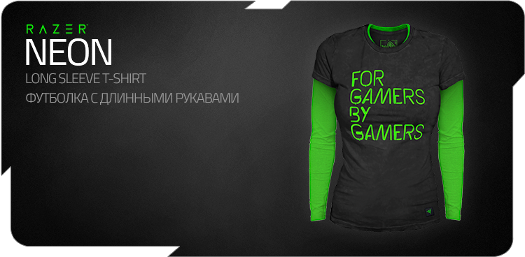 "Razer ""Neon"" Long Sleeve T-shirt"