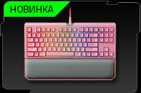Razer BlackWidow TE Chroma V2, Quartz Pink