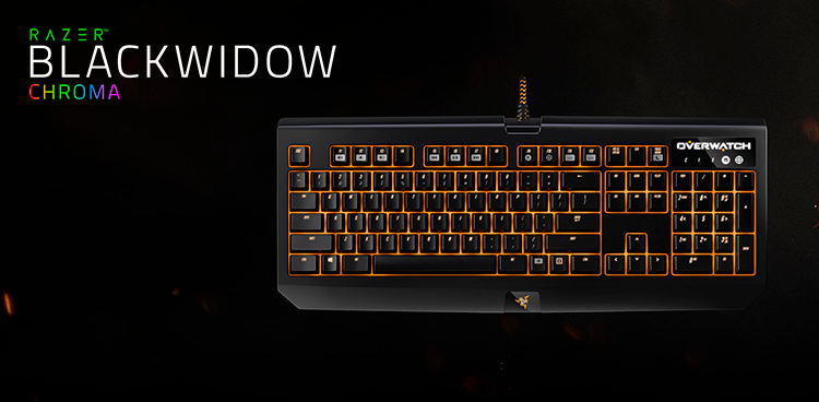 Overwatch Razer Blackwidow Chroma